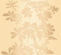 As-Creation Fiore 32584-6 Virágos díszítőminta panelszerű mintakialakítás bézs sárgásbézs barna tapéta