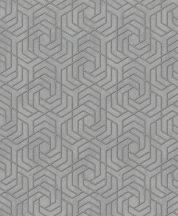Marburg City Glam/Urban Spaces 32610 Grafikus betonhatású háttéren labirintus minta szürke arany fémes hatás tapéta