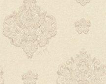 Architects Paper Kind of White 33928-5 Klassikus egyedi barokk díszítőminta krém bézs fénylő hatás tapéta