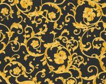 As-Creation Versace 3, 34326-2  indaminta  fekete aranysárga tapéta