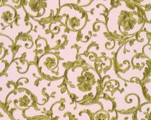 As-Creation Versace 3, 34326-4  indaminta  rózsaszín zöldarany  tapéta