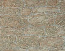 As-Creation Dekora Natur 6, 3438-26  kőmintás bézs szürke terra  csillámporos  tapéta