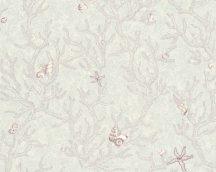 As-Creation Versace 3, 34496-4  kagylók korallok lila szürke fehér tapéta