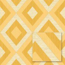 """Sintra Marbella 348420 ALVARO Geometrikus """"koncentrikus"""" rombuszok bézs sárga aranysárga tapéta"""