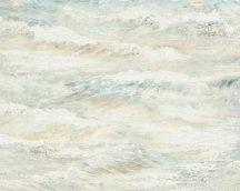 As-Creation Cote d'Azur 35409-1 tenger hullámai fehér bézs kék zöld  tapéta