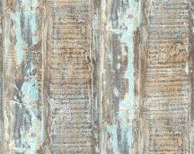 "As-Creation Cote d'Azur 35413-1 ""tengeri"" faminta kék  szürke türkiz barna  tapéta"