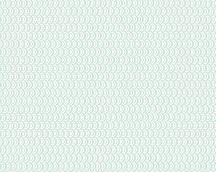 As-Creation Esprit 13, 35819-3  grafikus minta mentazöld fehér tapéta