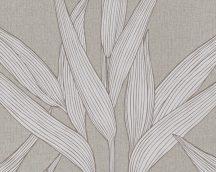 As-Creation Hygge 36123-1 natur levélmotívum  dekorminta barna szürke tapéta