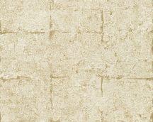 As-Creation Daniel Hechter 5, 36131-2  betonhatású négyzetminta  bézs arany tapéta