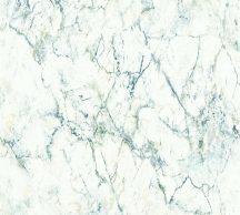 As-Creation Neue Bude 2.0, 36157-1 márványminta fehér zöld kék tapéta