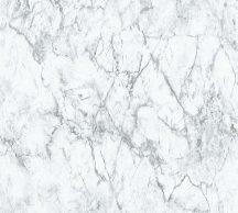 As-Creation Neue Bude 2.0, 36157-2 márványminta fehér szürke tapéta