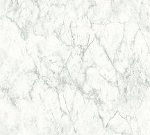 As-Creation Neue Bude 2.0, 36157-3  márványminta fehér halványszürke szürkésbézs  tapéta