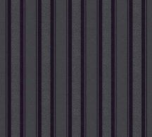 As-Creation Neue Bude 2.0, 36167-3 csíkos csillámmal fekete antracit tapéta