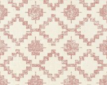 As-Creation California 36375-3 etno grafikus textil krém piros tapéta