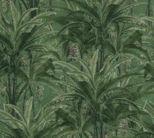 As-Creation Greenery 36480-2  Natur trópusi dzsungel zöld árnyalatok tapéta