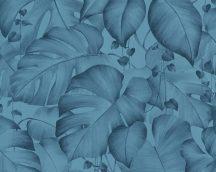 As-Creation Colibri 36627-1 natur organikus dzsungel kék tapéta