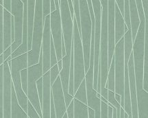 As-Creation Emotion Graphic 36878-5 Design grafikus zöld  fénylő hatás tapéta