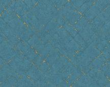 As-Creation Emotion Graphic 36881-5  design absztrakt kék arany tapéta