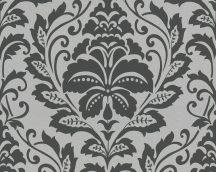 As-Creation Attractive 36910-2 Klasszikus Barokk díszítőminta ezüst/ezüstfehér fekete fémes hatás tapéta