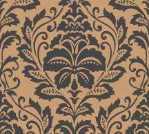 As-Creation Attractive 36910-4 Klasszikus Barokk díszítőminta bronz fekete fémes hatás tapéta