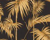 As-Creation Metropolitan Stories 36919-5  natur Vintage bambusz  fekete arany aranybarna fémes hatás tapéta