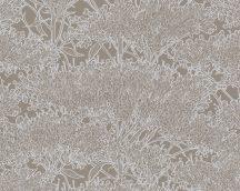 Architects Paper Absolutely Chic 36972-1 Natur organikus stilizált lombozat barna szürkésbarna ezüst csillogó hatás tapéta