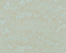 Architects Paper Absolutely Chic 36972-2  Natur organikus stilizált lombozat mentazöld aranybarna csillogó hatás tapéta
