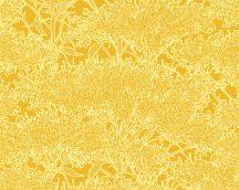 Architects Paper Absolutely Chic 36972-3  Natur organikus stilizált lombozat aranysárga világos sárga csillogó hatás tapéta