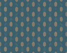 Architects Paper Absolutely Chic 36973-4  Grafikus hatszög/méhsejt mintázat sötétkék aranybarna tapéta