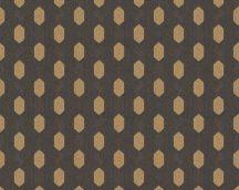 Architects Paper Absolutely Chic 36973-5  Grafikus hatszög/méhsejt mintázat sötétbarna arany tapéta