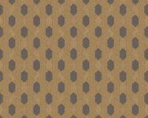Architects Paper Absolutely Chic 36973-6  Grafikus hatszög/méhsejt mintázat arany sötétbarna tapéta