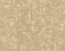 Architects Paper Absolutely Chic 36974-5  strukturált egyszínű rombuszok barna bézs tapéta