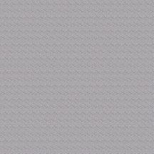 Geometrikus kis hatszögek/kockák váltakozó irányú finom struktúra szürke tapéta
