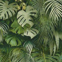 As-Creation Greenery 37280-2 Natur dzsungel trópusi levelek zöld árnyalatok tapéta