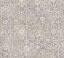 As-Creation New Walls 37391-2  FINCA HOME Natur díszes csempe hatású minta szürke szürkésbézs halvány lila fehér tapéta