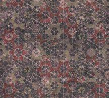 As-Creation New Walls 37391-3  FINCA HOME Natur díszes csempe hatású minta szürkéslila barna rézszín piros fémes hatás tapéta