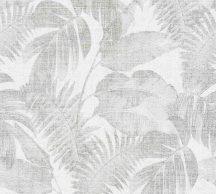 As-Creation New Walls 37396-2 COSY & RELAX Natur levelek krém szürke szürkésbarna tapéta