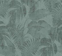 As-Creation New Walls 37396-3  COSY & RELAX Natur levelek zöld sötétzöld árnyalatok tapéta