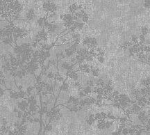 As-Creation New Walls 37397-1 COSY & RELAX Natur virágzó ágak szürke sötétszürke ezüstfehér tapéta