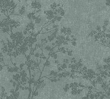 As-Creation New Walls 37397-3  COSY & RELAX Natur virágzó ágak zöld sötétzöld ezüstfehér tapéta