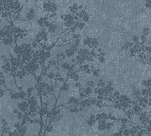 As-Creation New Walls 37397-4  COSY & RELAX Natur virágzó ágak szürkéskék sötétkék ezüstfehér tapéta
