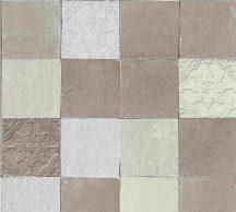 As-Creation New Walls 37406-3 FINCA HOME Natur csempetükör krém szürkésbarna ezüst tapéta