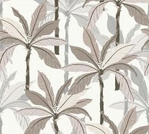 As-Creation Geo Nordic 37530-5 Natur trópusi pálmaliget fehér bézs barna szürke tapéta