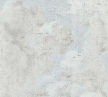 As-Creation History of Art 37649-1 Vintage minta repedezett vakolat alapon törtfehér szürke bézs tapéta