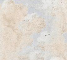 As-Creation History of Art 37649-2 Vintage minta repedezett vakolat alapon törtfehér szürke bézs sárgásbézs tapéta