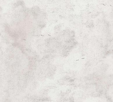 As-Creation History of Art 37649-4  Vintage minta repedezett vakolat alapon törtfehér szürke árnyalatok tapéta