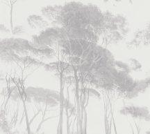 As-Creation History of Art 37651-3 Natur természeti kép fák - facsoprt fehér szürke árnyalatok tapéta