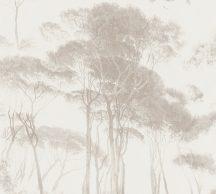 As-Creation History of Art 37651-4 Natur természeti kép fák - facsoprt krémfehér bézs és barna árnyalatok szürkésbézs tapéta