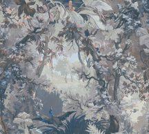 As-Creation History of Art 37652-3 Natur természeti kép egyedi erdő ábrázolás kék szürke fehér szines tapéta
