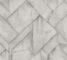 As-Creation Industrial 37741-3 Natur/Ipari stílus illeszkedő betonlapok világosszürke szürke árnyalatok tapéta